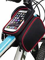 cheap -bike frame top tube bag waterproof sensitive touch screen cell phone mount holder