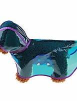cheap -dog clothes raincoat, waterproof pet dog puppy raincoat outdoor jacket rainwear cute hooded clothes for your pet puppy small medium large dogs, blue xxxxl