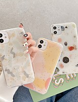 cheap -Case For Apple iPhone 12 / iPhone 11 / iPhone 12 Pro Max Shockproof Back Cover Color Gradient TPU