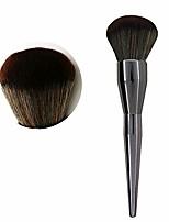 cheap -premium foundation brush,kabuki face makeup brush,large powder brush suit for stippling liquid cream powder foundation blending buffing brush (gun color)