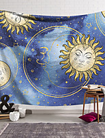 cheap -Tarot Divination Wall Tapestry Art Decor Blanket Curtain Hanging Home Bedroom Living Room Decoration Bohemian Mysterious Starry Sky Sun Moon