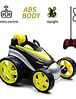 cheap -rc stunt car,remote control car,360 degree flips rotating race car,radio controlled toy car with four wheels, birthday gift for kids children aged 3-10 (yellow)