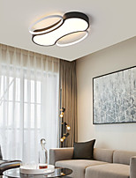 cheap -45/60 cm LED Ceiling Light Modern Geometric Shapes Includes Dimmable Version Living Room Bedroom Flush Mount Lights Metal Painted Finishes 220-240V