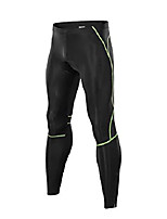 cheap -men's padded bike pants cycling tights riding clothing reflective (large, 15960 fluorescent green)