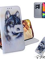 cheap -Case For Samsung Galaxy Galaxy Note 20 Ultra / Galaxy A51 / Galaxy S10 Lite Shockproof Full Body Cases Animal PU Leather / TPU