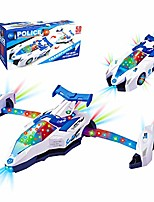 cheap -cddzsw 3-5 year old boy police car toy, police car with 3d siren, 6-10 year old boy and girl creative gift, 3-12 year old birthday and christmas party toy for kids