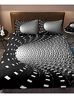 cheap -3D Black Hole Print Honeycomb 3-Piece Duvet Cover Set Hotel Bedding Sets Comforter Cover with Soft Lightweight Microfiber For Holiday Decoration(Include 1 Duvet Cover and 1or 2 Pillowcases)
