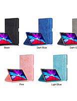cheap -Case For Apple iPad 8 (2020) 10.2'' / iPad 7 (2019) 10.2'' / iPad Air 3 (2019) 10.5'' Shockproof Full Body Cases Solid Colored PU Leather / TPU