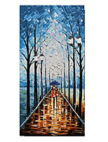 cheap -100% Hand-Painted Contemporary Art Oil Painting On Canvas Modern Paintings Home Interior Decor Abstract 3D Street Painting Large Canvas Art(Rolled Canvas without Frame)