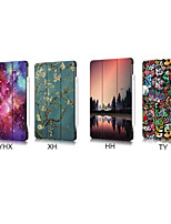 cheap -Case For Apple iPad Air 4 (2020) 10.9'' Shockproof Full Body Cases Scenery / Cartoon / Flower PU Leather / TPU