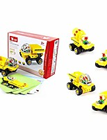 cheap -tech machines cement mixer 5 in 1 - includes 38 pieces and 5 learning cards