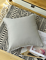 cheap -Cotton Solid Colored Canvas Pillow Case Cover Living Room Bedroom Sofa Cushion Cover Modern Sample Room Cushion Cover