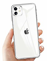cheap -iphone 11 protective cover, transparent cover for iphone 11 crystal iphone 11 mobile phone cover silicone ultra thin tpu bumper case anti-scratch shockproof soft cover for iphone 11 case cover