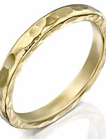 cheap -handmade gold filled hammered ring, textured statement band