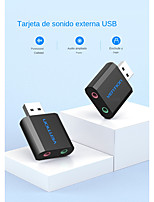 cheap -Vention-usb Sound Card Usb Audio Interface Adapter Sound Card For Microphone Speaker Laptop Ps4 External Sound Card