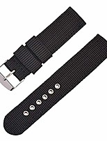 cheap -nylon watch band quick release watch band 16mm 18mm 20mm 22mm 24mm replacement watch strap for men and women (black, 18 mm)
