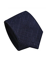 cheap -Men's Party / Work / Basic Necktie - Solid Colored