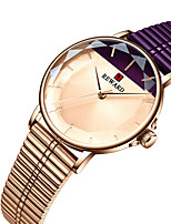 cheap -REWARD Women's Steel Band Watches Quartz Stylish Classic Water Resistant / Waterproof Analog Rose Gold Black Blue / Two Years / Stainless Steel / Japanese