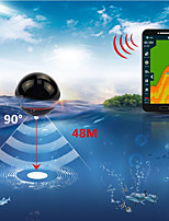 cheap -Xa02 Echo Sounder Portable Wireless Fish Finder Sonar 48m/160ft Detector Fishing Alarm Ios&android Russia Warehouse