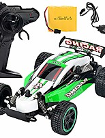 cheap -high-speed remote control car,1:18 electric car charging wireless remote control 2.4g drift high speed car model toy,green