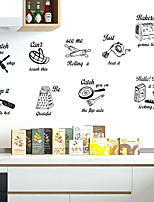 cheap -Creative And Personalized Kitchen Decoration Diy Stickers Can Be Removed For Kitchen Background Decoration In Dining Room