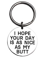 cheap -i hope your day is nice as my butt keychain (nice-my-butt)