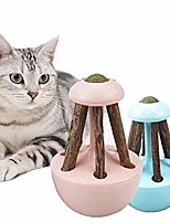 cheap -cat catnip toy matatabi silvervine chew sticks tumbler toys for pet cats (mix color)