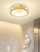 cheap -24cm LED Mini Ceiling Light Round Square Modern Nordic Gold Crystal Geometric Shapes Porch Light Corridor Aisle Flush Mount Lights Metal Painted Finishes 110-120V 220-240V