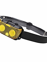 cheap -cob led headlight headlamp head torch fishing run camping lamp light flashlight black