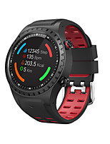 cheap -696 M1S Men's Smartwatch WIFI Bluetooth Heart Rate Monitor Hands-Free Calls Information Stopwatch Pedometer Call Reminder Find My Device Alarm Clock