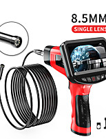 cheap -8.5mm endoscope high definition camera auto repair engine industrial pipe hand-held 4.3-inch one-screen sewer electronic air conditioning hard wire 1m with 32G TF card