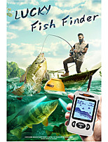 cheap -Lucky FFW718& FFW718LA Wireless Portable Fish Finder 45M/135FT Sonar Depth Sounder Alarm Ocean River Lake