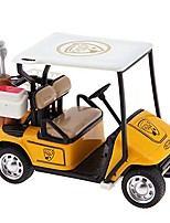 cheap -mini pull back car toys, 1:36 scale alloy pull back model car high simulation golf cart model toy birthday yellow