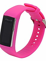 cheap -compatible for polar a360/a370 band - silicone watch band replacement watch bracelet intelligent wrist band strap compatible for polar a360/a370 (rosy)