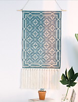 cheap -Hand Woven Macrame Wall Tapestry Hanging Bohemian Boho Art Decor Blanket Curtain Home Bedroom Living Room Decoration Nordic Handmade Tassel Cotton Geometric 50x70cm