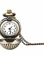 cheap -vintage mens pocket watch men's pocket watch retro pumpkin texture spherical pocket watch gift for men classic smooth face mechanical