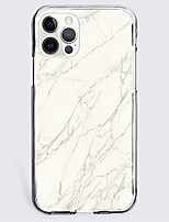 cheap -Marble Case For Apple iPhone 12 iPhone 11 iPhone 12 Pro Max Unique Design Protective Case Shockproof Back Cover TPU