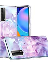 cheap -Case For Huawei HUAWEI P40 / HUAWEI P40 Pro / Huawei P30 Shockproof Back Cover Color Gradient TPU