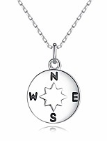 "cheap -you are my compass i'd be lost without you compass necklace for women valentines day, romantic anniversary birthday gift for wife girlfriend best friend,18""+2"" extender"