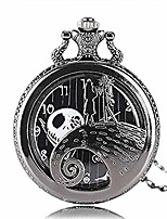 cheap -the nightmare before christmas quartz pocket watch necklace pendant xmas gifts