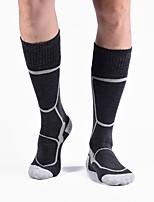 cheap -Men's Women's Boys and Girls Ski Socks 1 Pair Winter Softness Heat Retaining Socks Patchwork Wool Ski / Snowboard