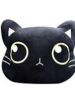 cheap -Cute Cat Car Neck Pillow Cartoon Cat Head Car Headrest Travel Cushion Cat Seatbelt Shoulder Pads Covers Rearview Mirror Cover