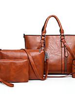 cheap -4 pcs women casual minimalist handbag shoulder bag