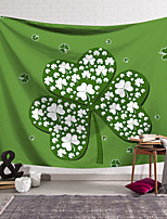 cheap -Saint Patrick's Day Wall Tapestry Art Decor Blanket Curtain Hanging Home Bedroom Living Room Decoration Polyester Shamrock