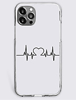 cheap -heart fashion case for apple iphone 12 iphone 11 iphone 12 pro max unique design protective case shockproof back cover tpu