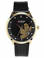 cheap -quartz watches for women's  original brand flower style leather waterproof girls wrist watch