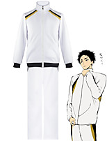 cheap -Inspired by Haikyuu Cosplay Anime Cosplay Costumes Japanese Cosplay Suits School Uniforms Coat Pants For Men's