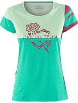 cheap -Women's Short Sleeve Downhill Jersey Blue Bike Top Mountain Bike MTB Road Bike Cycling Breathable Quick Dry Sports Clothing Apparel / Stretchy / Athleisure