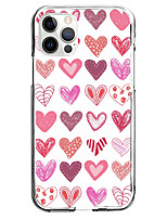 cheap -Love Case For Apple iPhone 12 iPhone 11 iPhone 12 Pro Max Unique Design Protective Case Shockproof Pattern Back Cover TPU