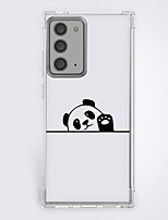 cheap -cartoon panda hello fashion case for Samsung Galaxy S21 20 plus s20 ultra Note 20 10 S20 FE design protective case shockproof back cover tpu